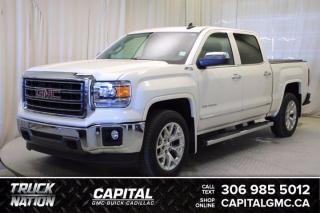 Used 2015 GMC Sierra 1500 SLT Crew Cab *LEATHER*SUNROOF*NAV* for sale in Regina, SK