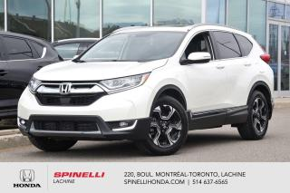 Used 2017 Honda CR-V DEAL PENDING Touring CUIR TOIT NAVI TRES BAS KM AWD MAGS TOIT BLUETOOTH NAVI++ for sale in Lachine, QC