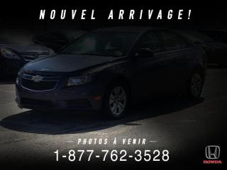 Used 2013 Chevrolet Cruze LT + AUTO + A/C + CRUISE + WOW! for sale in St-Basile-le-Grand, QC