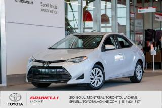 Used 2018 Toyota Corolla LE TOYOTA CERTIFIE! BAS MILEAGE! BLUETOOTH! for sale in Lachine, QC