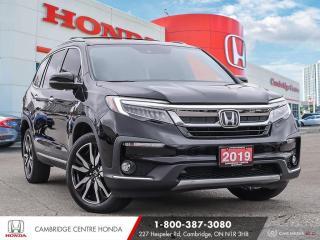 Used 2019 Honda Pilot Touring POWER SUNROOF | HONDA SENSING TECHNOLOGIES | GPS NAVIGATION for sale in Cambridge, ON