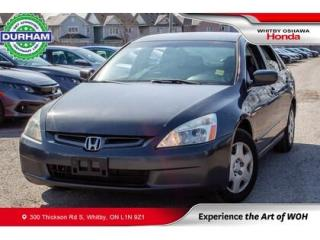 Used 2005 Honda Accord 4dr LX-G Auto for sale in Whitby, ON