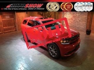 Used 2017 Dodge Durango GT - DVD x2, Nav, S.Roof, Htd Wheel & Lthr !! for sale in Winnipeg, MB