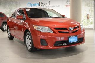 Used 2013 Toyota Corolla 4-door Sedan CE 4A for sale in Richmond, BC