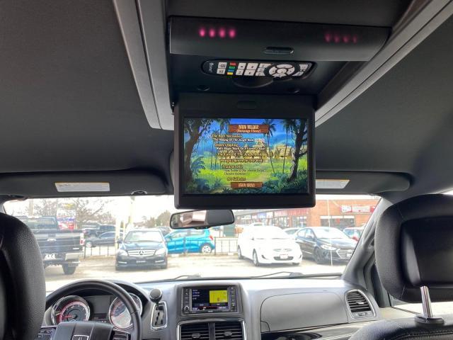 2016 Dodge Grand Caravan LOW KM SXT Premium Plus NAV DVD LEATHER 1OWNER NO