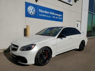 Used 2016 Mercedes-Benz E-Class AMG E 63 S-Model for sale in Edmonton, AB