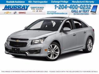 Used 2016 Chevrolet Cruze Limited LT for sale in Brandon, MB