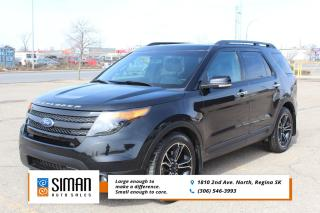 Used 2014 Ford Explorer Sport LEATHER SUNROOF AWD for sale in Regina, SK