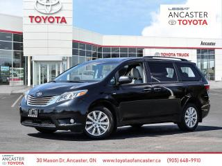 Used 2017 Toyota Sienna XLE AWD | LEATHER | BACK UP CAM for sale in Ancaster, ON