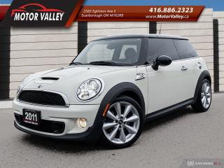 Used 2011 MINI Cooper S 6MT Only 044,753KM Sunroof/Leather Mint! for sale in Scarborough, ON