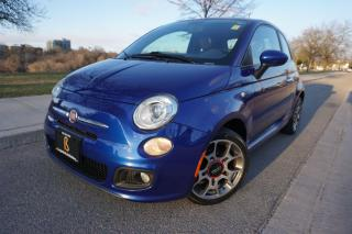 Used 2012 Fiat 500 SPORT / 1 OWNER / NO ACCIDENTS / LOW KM'S / CLEAN! for sale in Etobicoke, ON