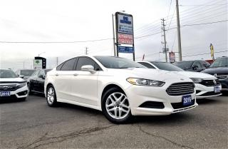 Used 2016 Ford Fusion No Accidents|1 Owner | SE FWD | Certified for sale in Brampton, ON