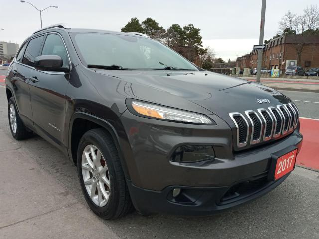 2017 Jeep Cherokee North-ONLY 139K-BK UP CAM-BLUETOOTH-AUX-ALLOYS