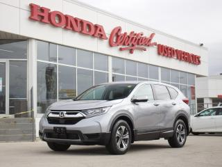 Used 2018 Honda CR-V LX AWD | APPLE CARPLAY | LOCAL | for sale in Winnipeg, MB