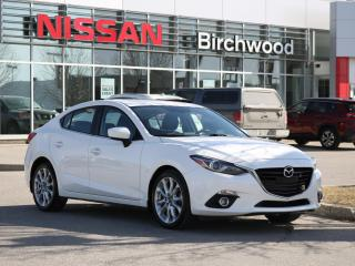 Used 2015 Mazda MAZDA3 GT 2 Sets of Wheels, Heated Seats, Sunroof, Backup Camera, HUD for sale in Winnipeg, MB