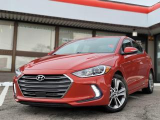 Used 2018 Hyundai Elantra GLS BSM |Apple and Andriod Auto | Leather | Sunroof for sale in Waterloo, ON