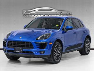 Used 2018 Porsche Macan S AWD Red Interior-SOLD!SOLD!SOLD! for sale in Concord, ON