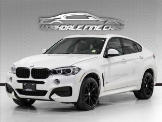 Used 2017 BMW X6 xDrive35i M Sport, Navigation, Intelligent Safety, Red Int for sale in Concord, ON