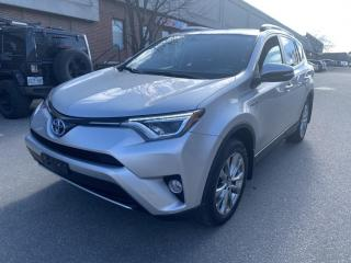 Used 2016 Toyota RAV4 Hybrid 4dr Limited for sale in North York, ON
