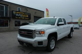 Used 2014 GMC Sierra 1500 4WD/DOUBLE CAB/SLE/4X4/NAV/REAR VIEW CAMERA/TRACTION CONTROL for sale in Newmarket, ON