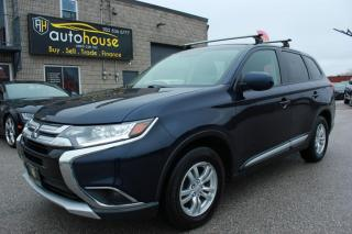 Used 2016 Mitsubishi Outlander 4WD/ES/CVT/ALL WEATHER PCK/TRACTION CONTROL/REVIEW CAMERA for sale in Newmarket, ON