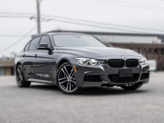 Used 2018 BMW 3 Series 340i |M-SPORT|MANUAL|NAV |HUD |GREY ON RED for sale in North York, ON