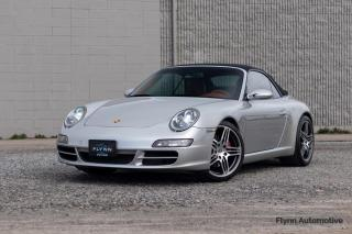 Used 2005 Porsche 911 Carrera S Cabriolet Red Interior, Sport Chrono Plus for sale in St. Catharines, ON