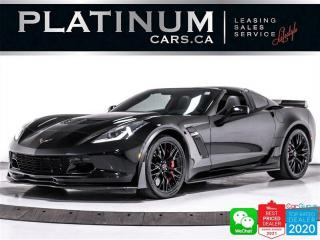 Used 2019 Chevrolet Corvette Z06w/3LZ,Z07 PKG,CARBON FIBER,H.U.D,NAVI,CAMERA, for sale in Toronto, ON