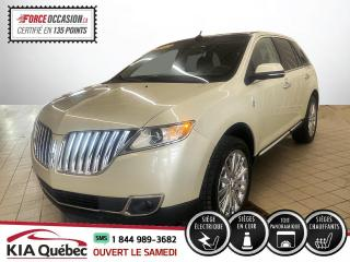 Used 2015 Lincoln MKX ** AWD * GPS * CUIR * TOIT OUVRANT * for sale in Québec, QC