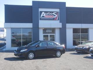 Used 2010 Toyota Corolla CE + INSPECTÉ + FREINS AVANT NEUFS for sale in Sherbrooke, QC