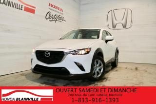 Used 2018 Mazda CX-3 GX for sale in Blainville, QC