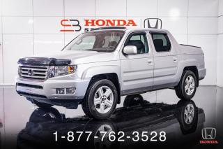 Used 2014 Honda Ridgeline TOURING + 4WD + CUIR + TOIT + MAGS + WOW for sale in St-Basile-le-Grand, QC
