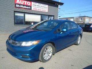 Used 2012 Honda Civic EX for sale in St-Hubert, QC