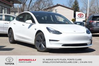 Used 2019 Tesla Model 3 STADARD RANGE PLUS AUTOPILOT, LOW KM! for sale in Pointe-Claire, QC