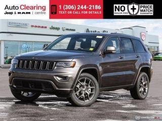 New 2021 Jeep Grand Cherokee 80th Anniversary for sale in Saskatoon, SK