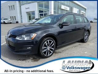 Used 2017 Volkswagen Golf Sportwagen Comfortline 4Motion AWD for sale in PORT HOPE, ON