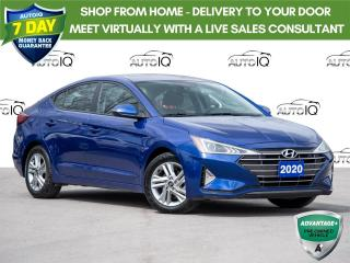 Used 2020 Hyundai Elantra Preferred w/Sun & Safety Package Sunroof  |  Safety Package |  Winter Wheels and Tires TOO! for sale in St Catharines, ON