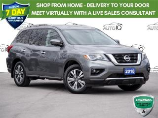 Used 2018 Nissan Pathfinder SV Tech 7 Passenger   |   4 Wheel Drive   |    V6 Engine    |    Tow Package for sale in St Catharines, ON