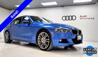 Used 2017 BMW 3 Series 340i xDrive w/M Sport Package *Low KM-Local Trade* for sale in Winnipeg, MB