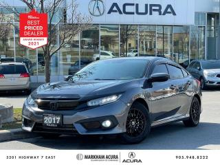 Used 2017 Honda Civic TOURING SEDAN for sale in Markham, ON