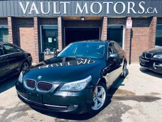 Used 2009 BMW 5 Series 4dr Sdn 528i xDrive AWD,LEATHER,NO ACCIDENTS for sale in Brampton, ON