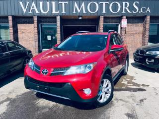 Used 2013 Toyota RAV4 AWD 4dr Limited,LEATHER for sale in Brampton, ON