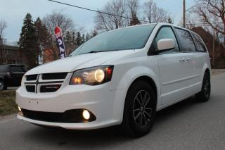Used 2016 Dodge Grand Caravan R/T, Leather, Rear Camera, Stow 'N Go, Power Sliding Doors for sale in King City, ON