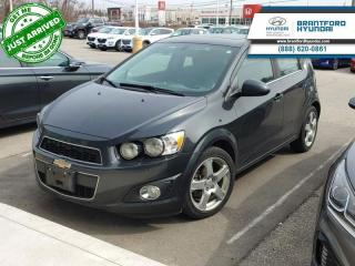 Used 2015 Chevrolet Sonic LT for sale in Brantford, ON