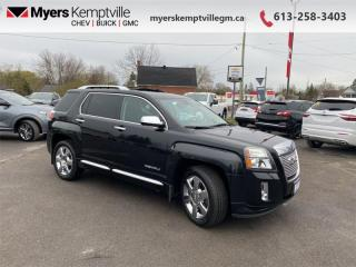 Used 2014 GMC Terrain Denali  - Sunroof -  Leather Seats for sale in Kemptville, ON