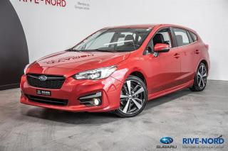 Used 2017 Subaru Impreza Sport-tech NAVI+CUIR+TOIT.OUVRANT for sale in Boisbriand, QC