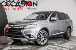 Used 2017 Mitsubishi Outlander ES AWC MAGS+SIEGES.CHAUFFANTS+BLUETOOTH for sale in Boisbriand, QC