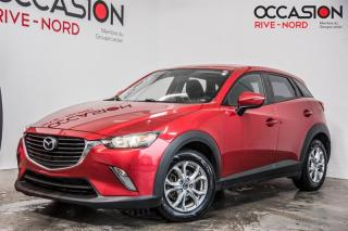 Used 2016 Mazda CX-3 GS AWD NAVI+CUIR+TOIT.OUVRANT for sale in Boisbriand, QC