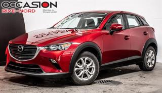 Used 2019 Mazda CX-3 GS AWD MAGS+CAM.RECUL+SIEGES.CHAUFFANTS for sale in Boisbriand, QC