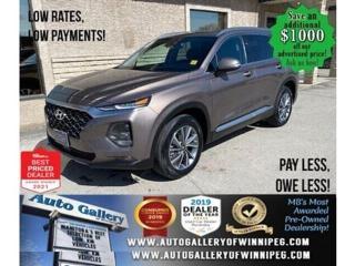 Used 2020 Hyundai Santa Fe Preferred* AWD/Satellite Radio/HEATED SEATS for sale in Winnipeg, MB